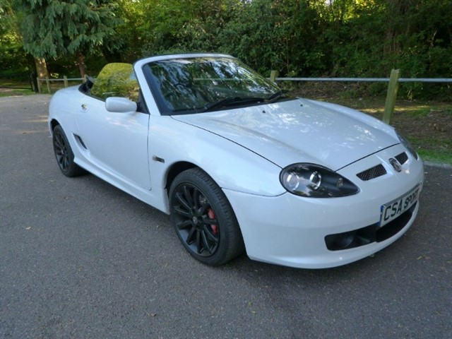 used MG TF LE500 #138/500 (just 34,000m)