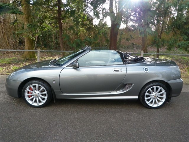 used MG TF 135 Spark 'SE' (just 53,000m)  £3995 SOLD