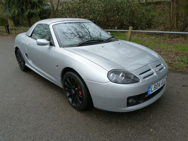 used MG TF 135 Sunstorm ltd ed + H/top Very low miles
