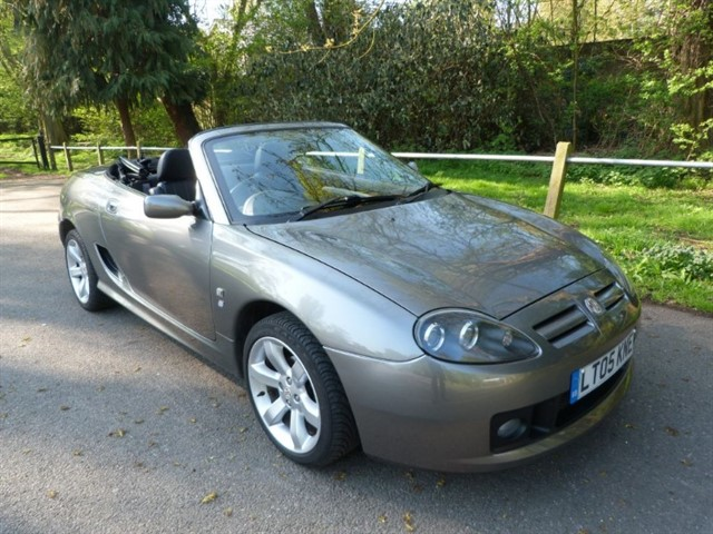 used MG TF 135 Facelift mdl (just 35,000m)