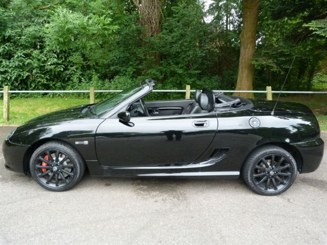 used MG TF LE 500 ( 1 owner just 9,200miles)£8495 SOLD