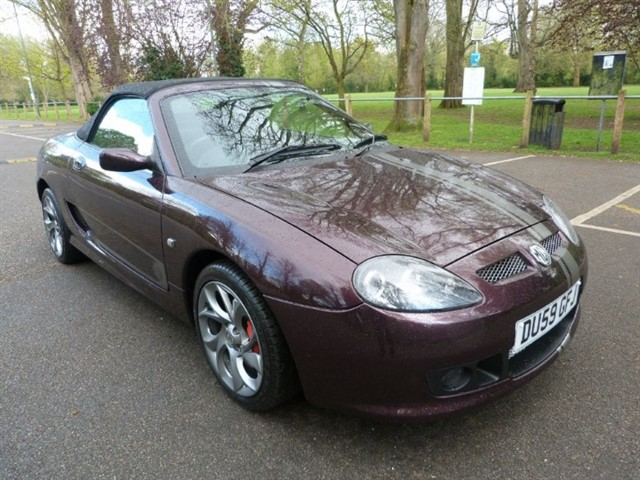 used MG TF 85TH ANNIVERSARY.Just 50 made.
