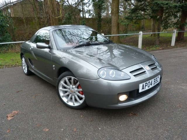used MG TF 160vvc +H/top(Look just 7,100miles)