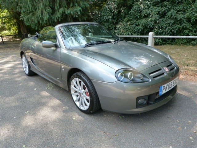 used MG TF 135 Spark 'SE' with a very low mileage.