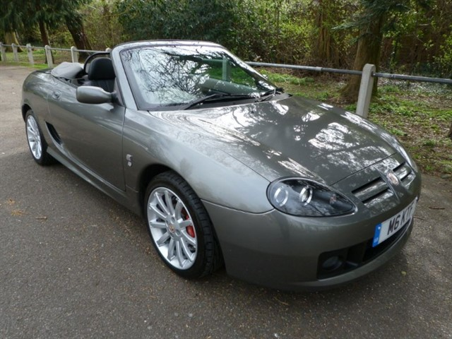 used MG TF 160vvc +H/top,05/55 (just 24,000miles)