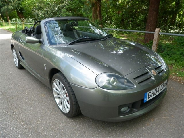 used MG TF 160vvc +Hardtop( just 15,000miles)