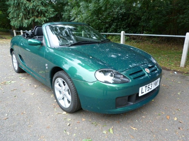 used MG TF 135 just 6,925miles.Collectors item.