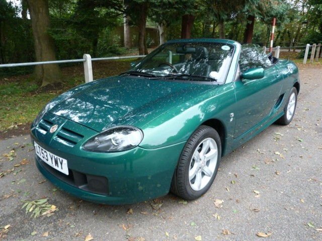 used MG TF 135 just 6,925m. Sale price huge reduction.