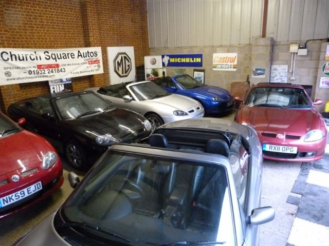 used MG TF Loss of my Office/storage, All cars to go.