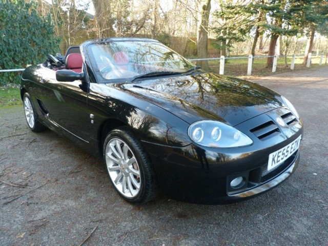 used MG TF 135, Very high spec, Rare colour combo.