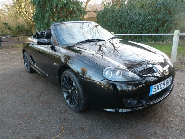 used MG TF LE 500+H/top,#181/500, just 38,665miles