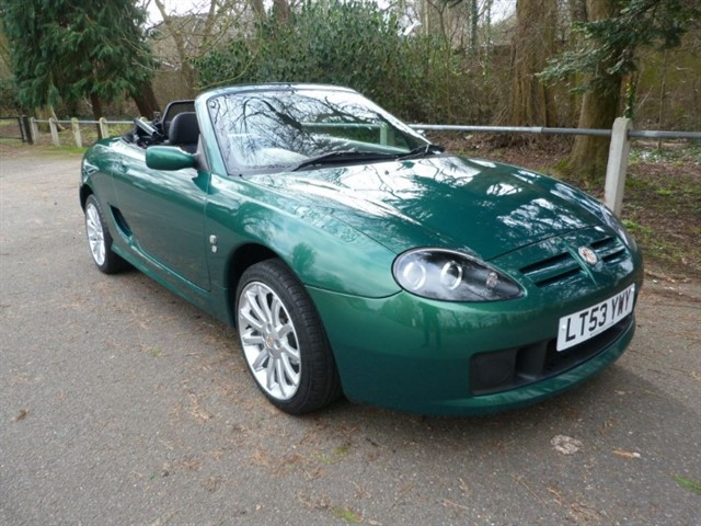 used MG TF 135. LOOK 6,932 miles from new