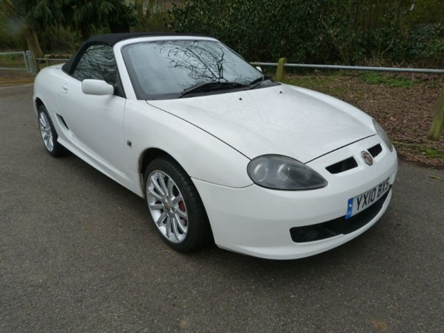 used MG TF 135 LE. just 32,000 miles.
