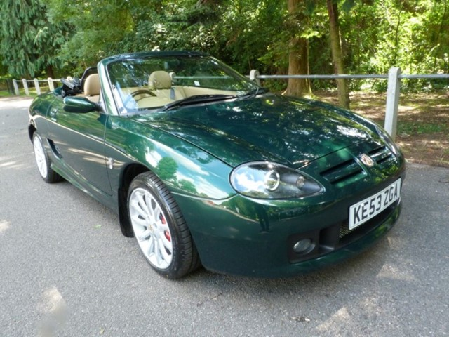 used MG TF 160vvc. Huge spec & just 11,570 miles