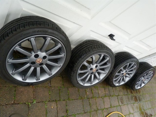 used MG TF /115/135/160 Upgrade your alloys