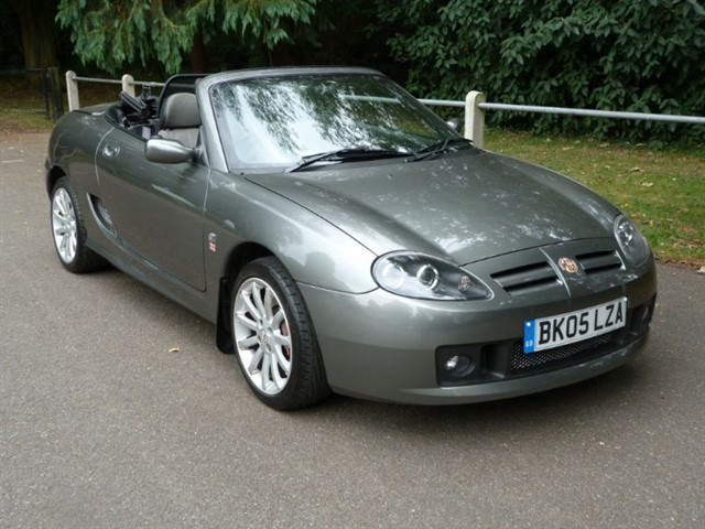 used MG TF 135 High spec+ H/top,just 39,000m