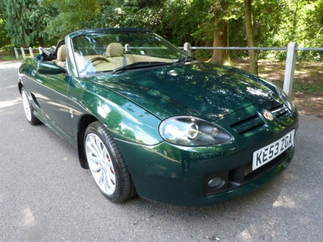 used MG TF 160vvc + H/top, Just 12,000miles