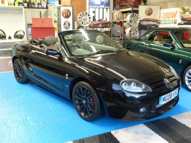 used MG TF 160vvc.Facelift mdl,possibly the last registered