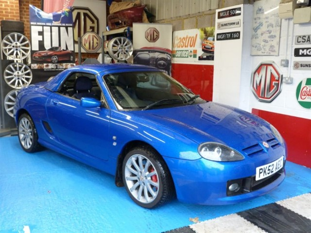 used MG TF 160vvc + H/top.Huge spec, Immaculate.