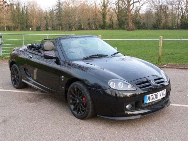 used MG TF 160vvc. One of the very last TF's registered
