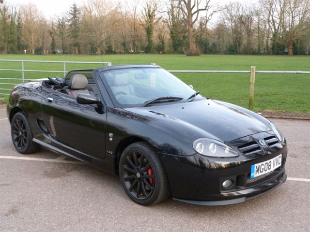 used MG TF 160vvc.F/lift, 08/08 just 38,000 miles