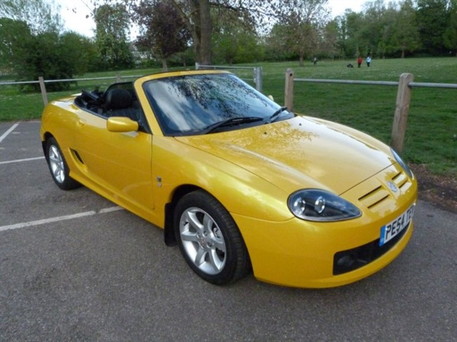 used MG TF 135 Rare Sunspot Yellow,just 14,700m
