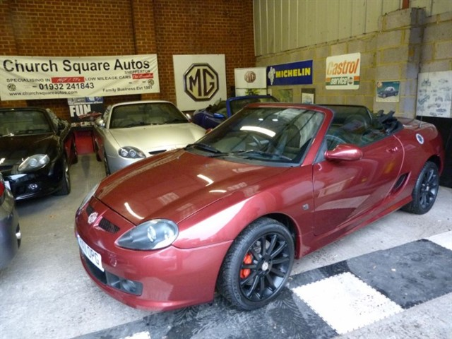 used MG TF 135, One of the last registered.