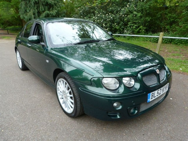 used MG ZT 190 + 2.5 V6 Saloon (Outstanding)