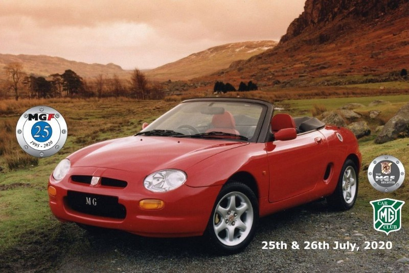 Car of the week - MG MGF TF's. Low mileage cars @ sensible prices - Only P.O.A.