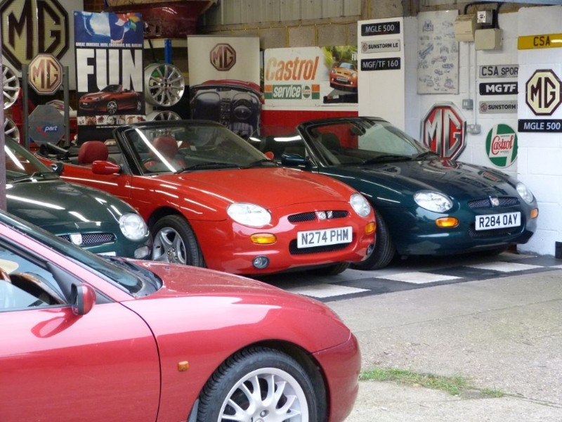 Car of the week - MG MGF TF's. Church Square Autos Shepperton - Only P.O.A.