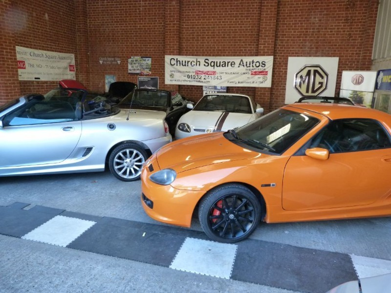Car of the week - MG TF /MGF's. Large choice of low mileage cars. - Only P.O.A.