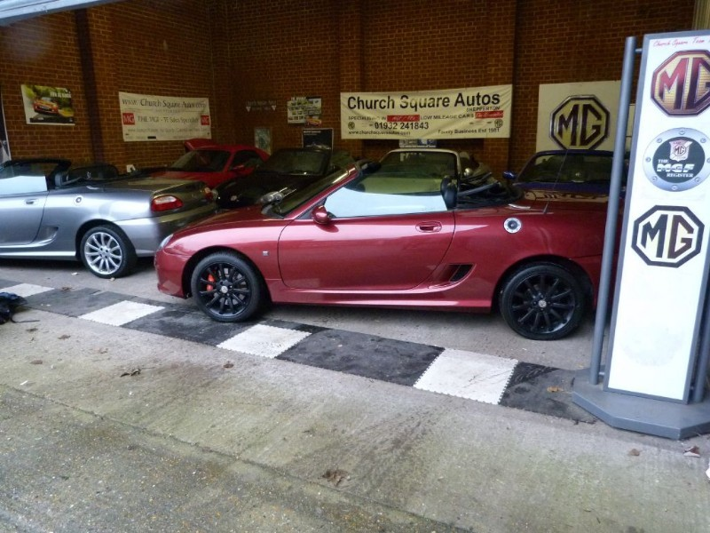Car of the week - MG TF 115/135/160vvc Remapped ECU's - Only P.O.A.