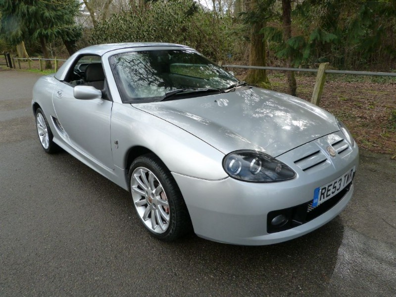 Car of the week - MG TF 135 Sprint ltd ed+ H/top(Very high spec) - Only £3,695