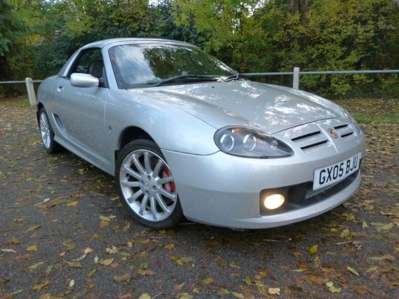 Car of the week - MG TF 135 Sunstorm +H/Top,Very low mileage - Only £4,895