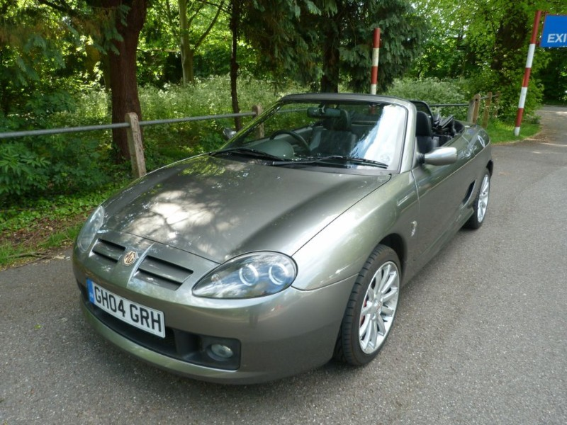 Car of the week - MG TF 160vvc +Hardtop( just 15,000miles) - Only £7,995