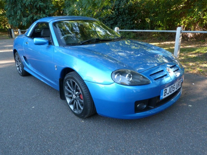 Car of the week - MG TF 115 Spark'SE'+ H/top,just 43,000miles. - Only £3,695