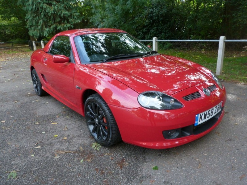 Car of the week - MG TF LE 500+H/top,#140/500,Just 6,600miles - Only £8,995