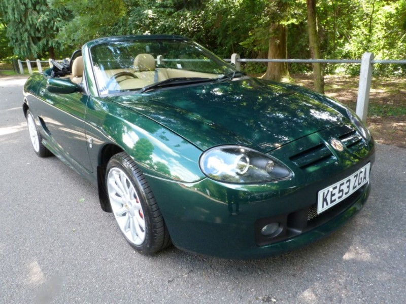 Car of the week - MG TF 160vvc + H/top, Just 12,000miles - Only £8,695