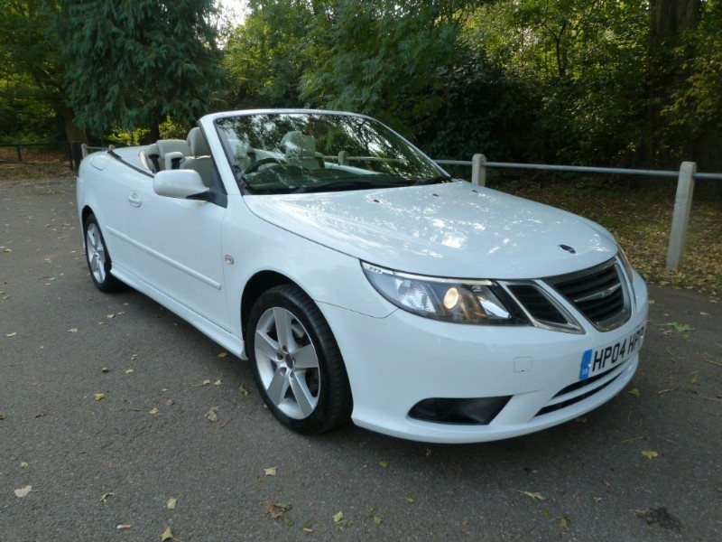 Car of the week - Saab 9-3 VECTOR SPORT TID Convertible - Only £5,995