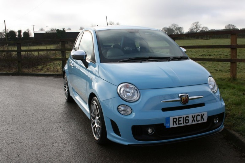 used Abarth 595  in aldershot-hampshire