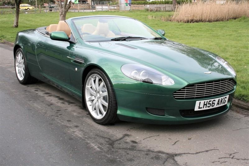 used Aston Martin DB9 V12 in aldershot-hampshire