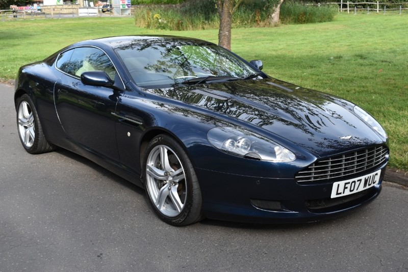 used Aston Martin DB9 DB9 in aldershot-hampshire
