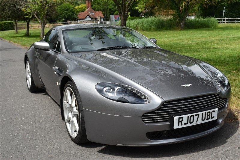 used Aston Martin Vantage V8 used cars in aldershot-hampshire