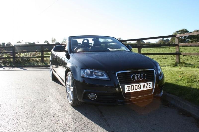 used Audi A3 TDI S LINE in aldershot-hampshire
