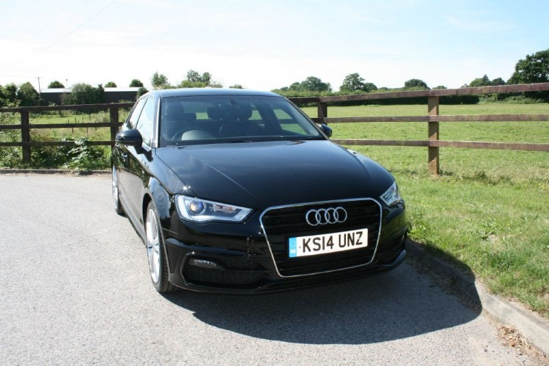 used Audi A3 TDI S LINE (PANO ROOF) in aldershot-hampshire