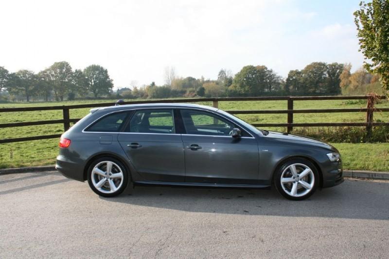 used Audi A4 Avant TDI S LINE SAT NAV AUTO in aldershot-hampshire