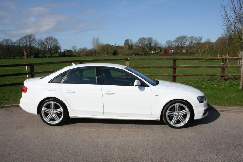 used Audi A4 TFSI QUATTRO S LINE in aldershot-hampshire