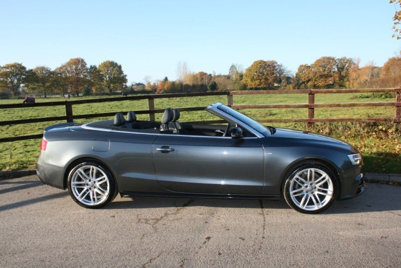 used Audi A5 CABRIOLET TFSI S LINE SPECIAL EDITION PLUS in aldershot-hampshire