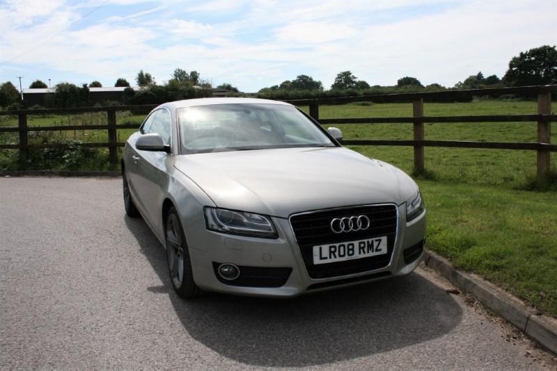 used Audi A5 TDI SPORT in aldershot-hampshire