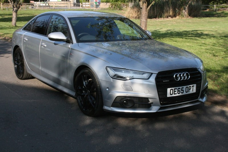 used Audi A6 TDI QUATTRO S LINE BLACK EDITION in aldershot-hampshire